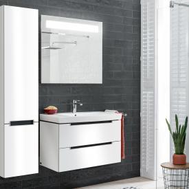 Villeroy & Boch Subway 2.0 Waschtisch mit Waschtischunterschrank und More to See 14 Spiegel