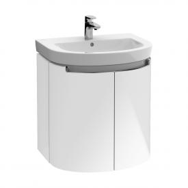 Villeroy & Boch Subway 2.0 Waschtischunterschrank XXL mit 2 Türen Front glossy white / Korpus glossy white, Griff chrom