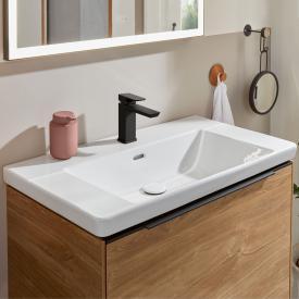 Villeroy & Boch Subway 3.0 Möbelwaschtisch weiß, mit CeramicPlus, mit 1 Hahnloch, mit Überlauf