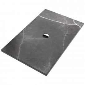 Villeroy & Boch Subway Infinity Duschwanne vier Seiten geschnitten ViPrint-Dekor highland stone