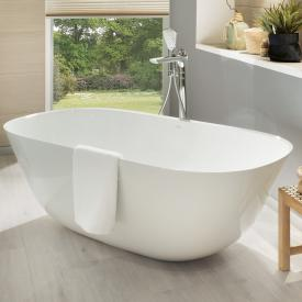 Villeroy & Boch Theano Freistehende Oval-Badewanne weiß