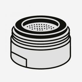Villeroy & Boch Umbrella Strahlregler für Einhand-Spültischbatterie edelstahl gebürstet
