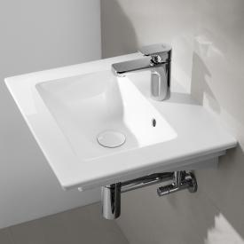 Villeroy & Boch Venticello Handwaschbecken weiß, mit 1 Hahnloch
