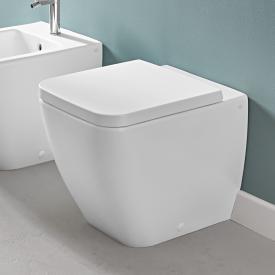 Villeroy & Boch Venticello Stand-Tiefspül-WC, offener Spülrand stone white, mit CeramicPlus