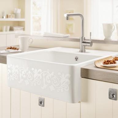 Küche waschbecken keramik  Keramikspüle kaufen - Ratgeber Kauf & Pflege bei REUTER