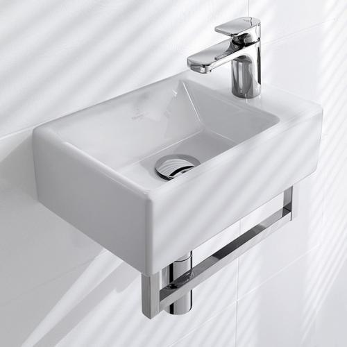 villeroy boch memento handwaschbecken wei 53334101 reuter. Black Bedroom Furniture Sets. Home Design Ideas