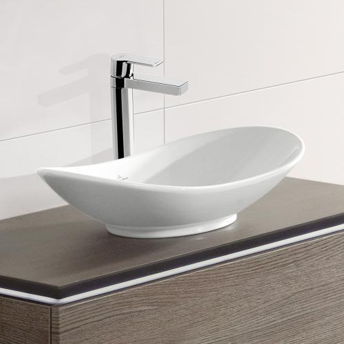 villeroy boch my nature aufsatzwaschtisch oval wei mit ceramicplus 411060r1 reuter. Black Bedroom Furniture Sets. Home Design Ideas