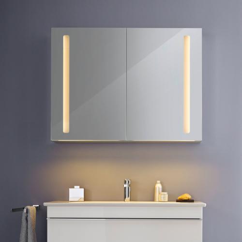 villeroy boch my view 14 spiegelschrank mit led beleuchtung dimmbar a4221000 reuter. Black Bedroom Furniture Sets. Home Design Ideas