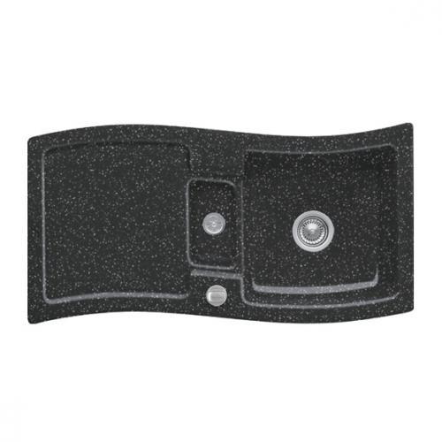 villeroy boch new wave 60 sp le mit excenterbet tigung b 98 t 51 cm chromit glanz position. Black Bedroom Furniture Sets. Home Design Ideas