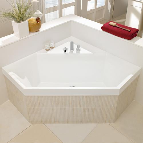 villeroy boch squaro sechseck badewanne wei. Black Bedroom Furniture Sets. Home Design Ideas