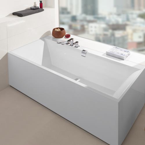 villeroy boch squaro edge 12 rechteck badewanne wei. Black Bedroom Furniture Sets. Home Design Ideas