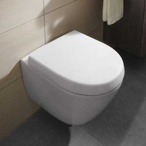 villeroy boch subway 2 0 compact wc sitz abnehmbar wei 9m69q101 reuter. Black Bedroom Furniture Sets. Home Design Ideas