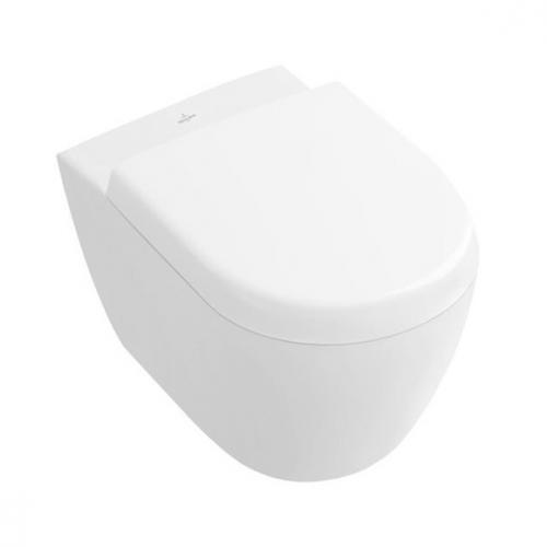 villeroy boch subway 2 0 tiefsp l wand wc compact wei mit ceramicplus 560610r1 reuter. Black Bedroom Furniture Sets. Home Design Ideas