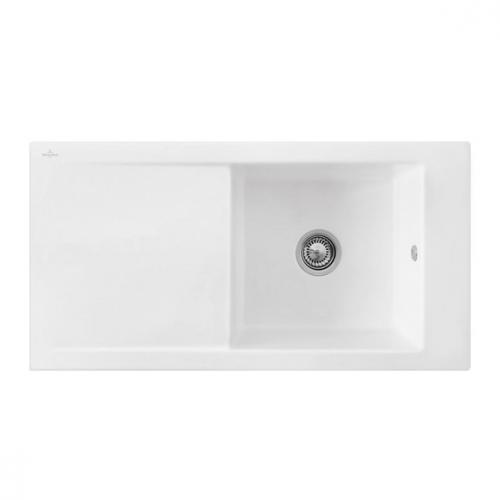 villeroy boch timeline 60 sp le mit handbet tigung b 100 t 51 cm edelwei ohne lochbohrung. Black Bedroom Furniture Sets. Home Design Ideas