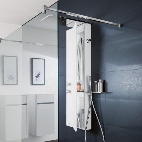 villeroy boch vivia duschpaneel wei uspvivw0 reuter. Black Bedroom Furniture Sets. Home Design Ideas