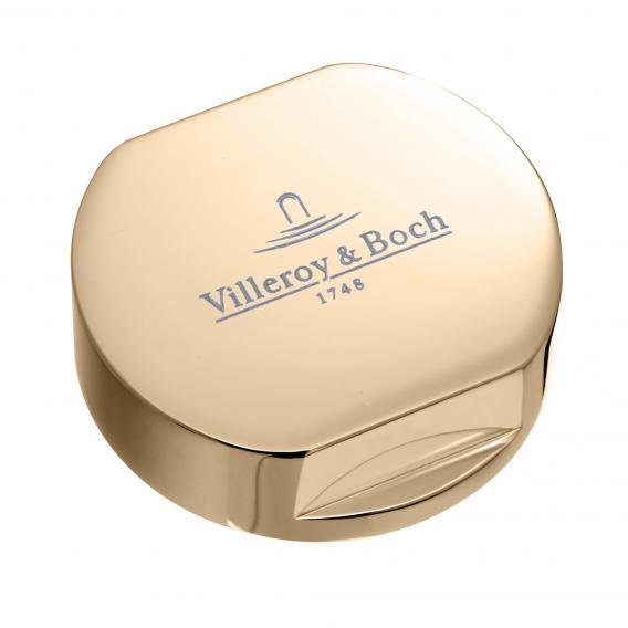 Villeroy & Boch Abdeckkappe für Einzeldrehgriff, rund gold