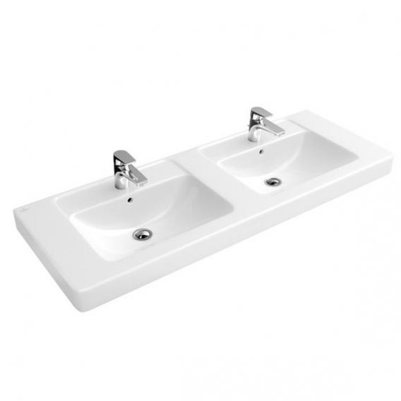Villeroy & Boch Architectura Doppelwaschtisch weiß mit CeramicPlus
