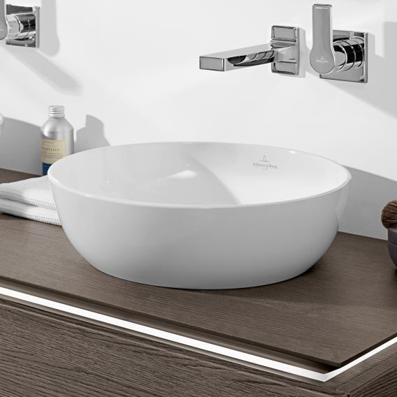 villeroy boch artis aufsatzwaschtisch wei mit. Black Bedroom Furniture Sets. Home Design Ideas
