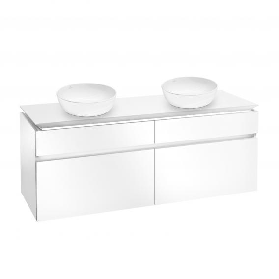 Villeroy & Boch Artis Aufsatzwaschtische mit Legato LED-Waschtischunterschrank mit 4 Auszügen