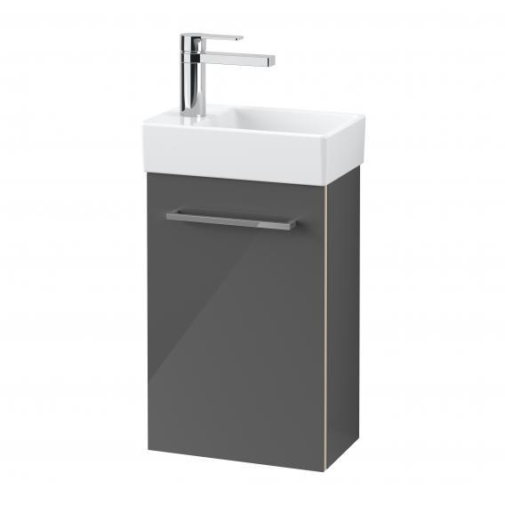 Villeroy & Boch Avento Handwaschbeckenunterschrank mit 1 Tür Front crystal grey / Korpus crystal grey