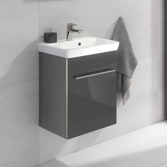 Villeroy & Boch Avento Waschtischunterschrank mit 1 Tür Front crystal grey / Korpus crystal grey