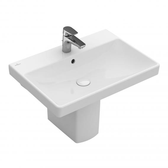 Villeroy & Boch Avento Waschtisch weiß mit CeramicPlus, mit Überlauf