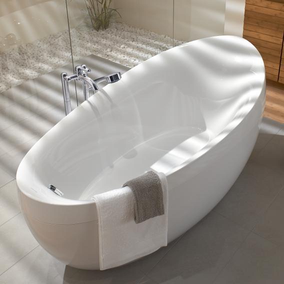 Villeroy & Boch Aveo Freistehende Badewanne weiß
