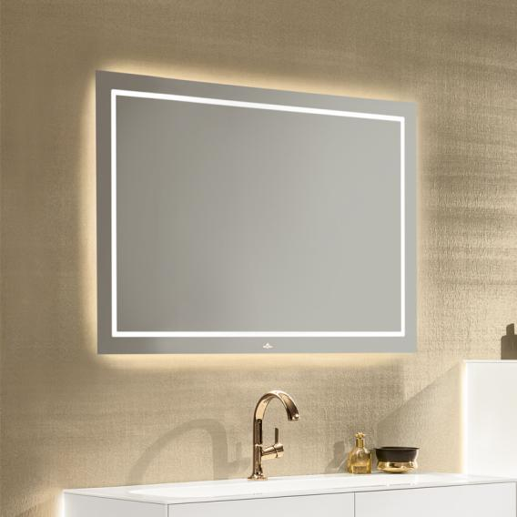 Villeroy & Boch Finion LED Spiegel mit indirekter