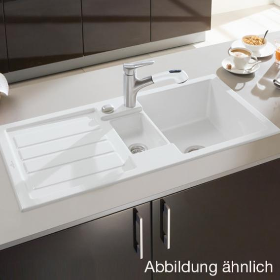 villeroy boch flavia 60 sp le mit excenterbet tigung b 101 t 51 cm graphit position. Black Bedroom Furniture Sets. Home Design Ideas