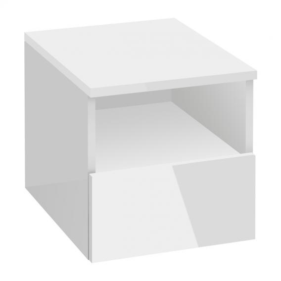 Villeroy & Boch Legato Anbauschrank mit Auszug Front glossy white / Korpus glossy white
