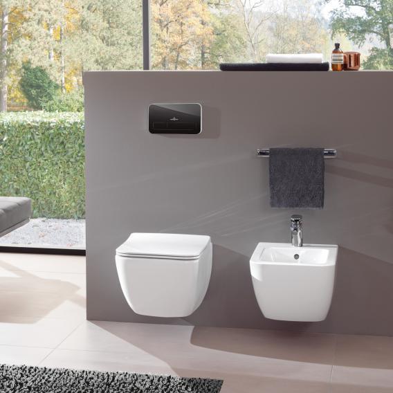 Villeroy & Boch Legato Wand-Bidet weiß mit CeramicPlus