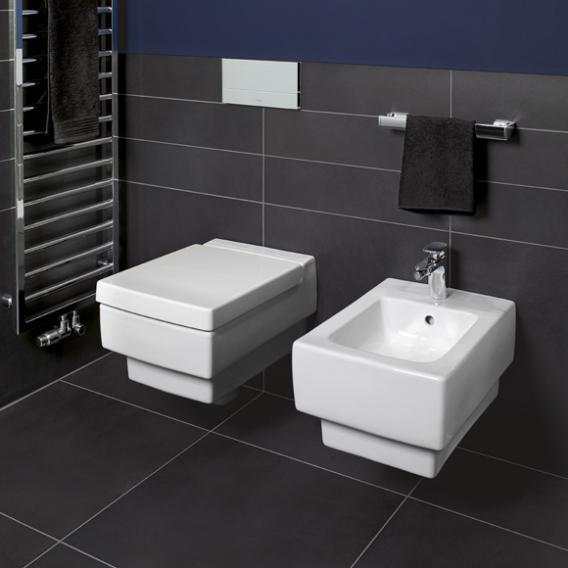 Villeroy & Boch Memento Tiefspül-Wand-WC weiß, mit CeramicPlus