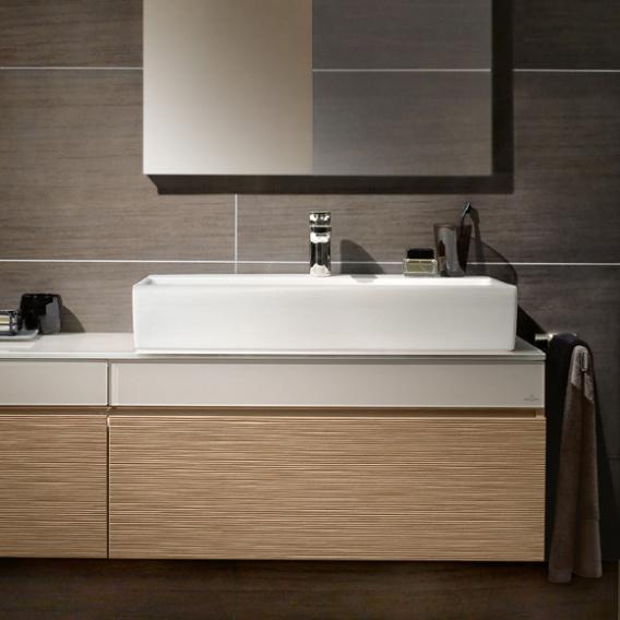villeroy boch memento waschtisch f r montage mit m beln konsole wei ceramicplus mit 1. Black Bedroom Furniture Sets. Home Design Ideas