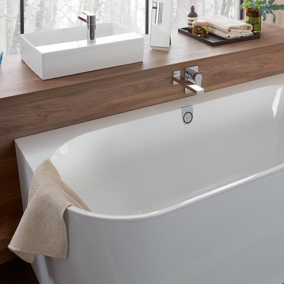 Villeroy & Boch Oberon 2.0 Rückwand-Badewanne weiß