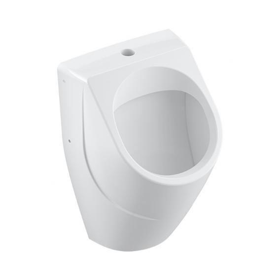 Villeroy & Boch O.novo Absaug-Urinal, ohne Spülrand, Zulauf von oben weiß, mit CeramicPlus