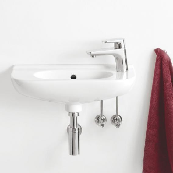 villeroy boch handwaschbecken compact wei ohne hahnloch mit berlauf 53615001 reuter. Black Bedroom Furniture Sets. Home Design Ideas