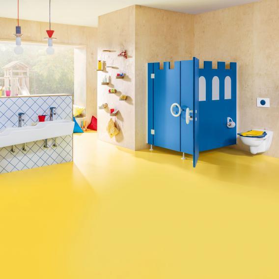 Villeroy & Boch O.novo Kids Betätigungsplatte weiß/blau