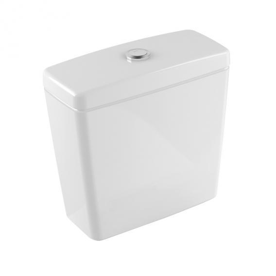 Villeroy & Boch O.novo Spülkasten für Aufsatzmontage, Zulauf seitlich/hinten weiß