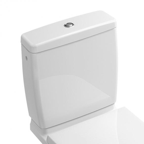 Villeroy & Boch O.novo Spülkasten Zulauf seitlich/hinten weiß mit CeramicPlus