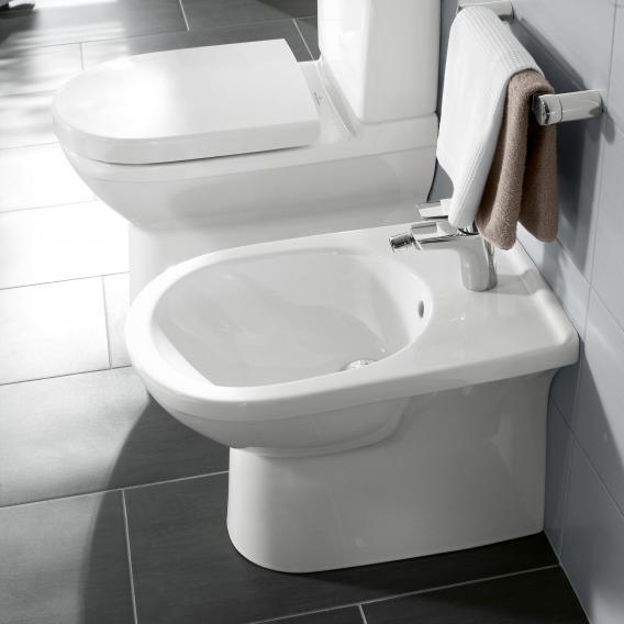 Villeroy & Boch O.novo Stand-Bidet weiß mit CeramicPlus