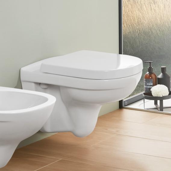 """V/&B O.Novo Wand-WC Spülrandlos Ceramicplus /"""" OHNE WC SITZ /"""""""
