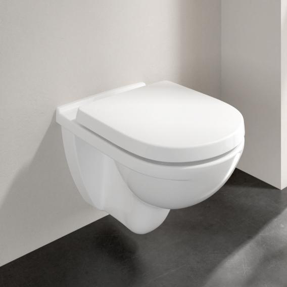 villeroy boch wand tiefsp l wc wei mit ceramicplus 566010r1 reuter. Black Bedroom Furniture Sets. Home Design Ideas