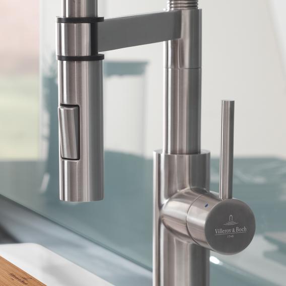 Villeroy & Boch Steel Expert Einhand-Spültischbatterie