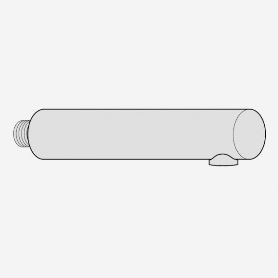Villeroy & Boch Steel Shower Handbrause für Niederdruck-Einhand-Spültischbatterie