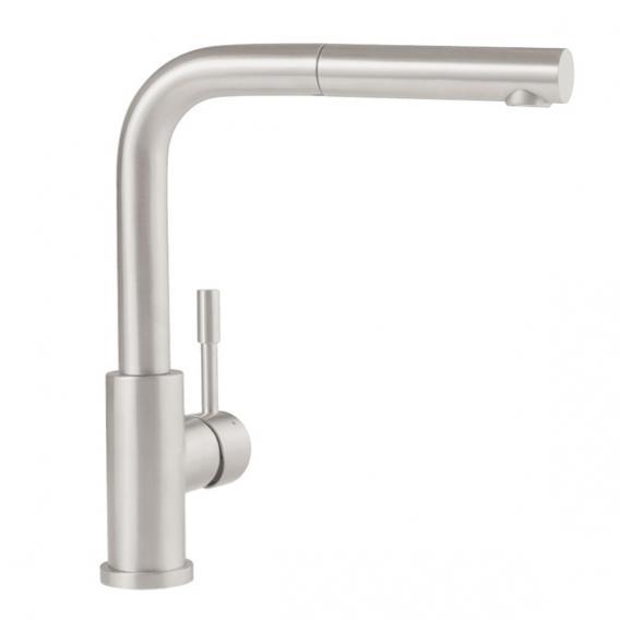 Villeroy & Boch Steel Shower Küchenarmatur mit ausziehbarem Auslauf edelstahl gebürstet