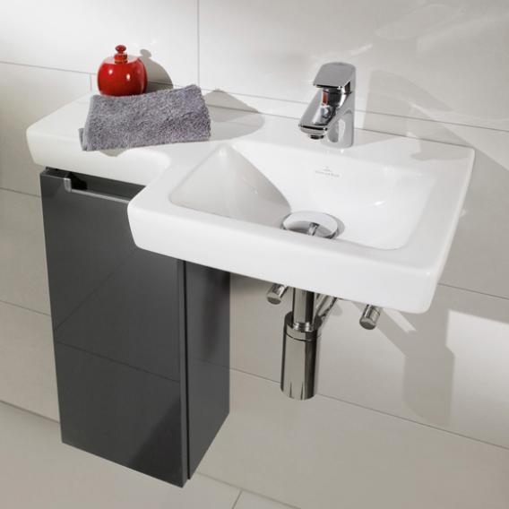Villeroy & Boch Subway 2.0 Handwaschbecken weiß mit CeramicPlus ohne Überlauf