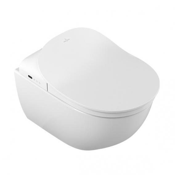 Villeroy & Boch Subway 2.0 Wand-Tiefspül-WC DirectFlush mit ViClean-L4 WC-Sitz Combi-Pack weiß mit CeramicPlus