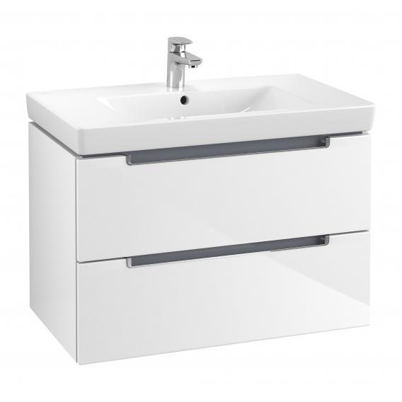 Villeroy & Boch Subway 2.0 Waschtisch mit Waschtischunterschrank mit 2 Auszügen