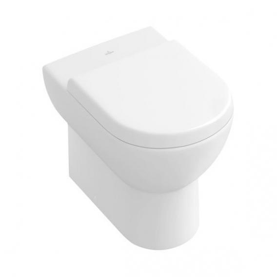 Villeroy & Boch Subway Stand-Tiefspül-WC, wandnah weiß