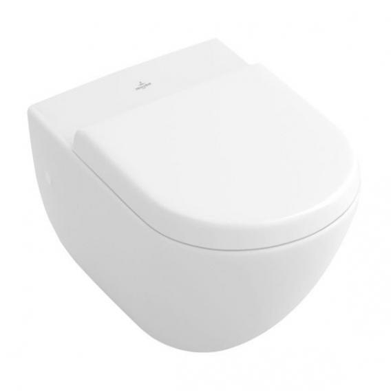 Villeroy & Boch Subway Wand-Flachspül-WC weiß, mit CeramicPlus